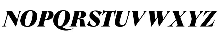 GT Super Display Super Italic Font UPPERCASE