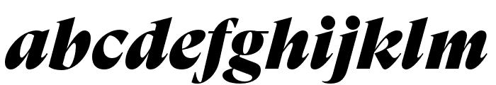 GT Super Display Super Italic Font LOWERCASE