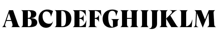 GT Super Display Super Font UPPERCASE