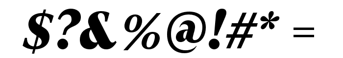 GT Super Text Black Italic Font OTHER CHARS