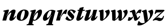 GT Super Text Black Italic Font LOWERCASE