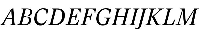 GT Super Text Book Italic Font UPPERCASE
