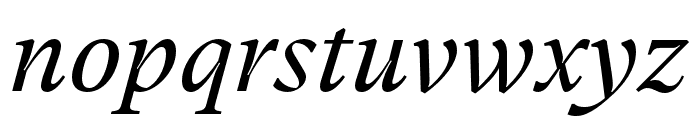GT Super Text Book Italic Font LOWERCASE