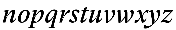GT Super Text Regular Italic Font LOWERCASE