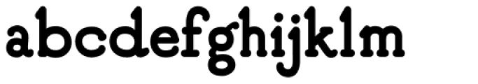 GT Fairbanks Font LOWERCASE