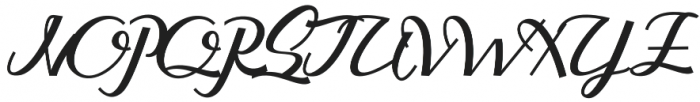 Guarddilla Typeface otf (400) Font UPPERCASE