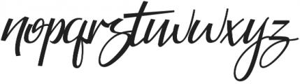 Guarddilla Typeface otf (400) Font LOWERCASE