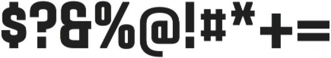 Gubia Black Alternate Regular otf (900) Font OTHER CHARS
