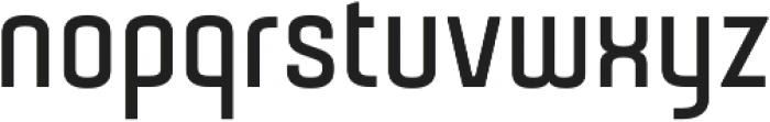 Gubia Bold Alternate Regular otf (700) Font LOWERCASE
