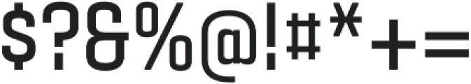 Gubia Bold Regular otf (700) Font OTHER CHARS