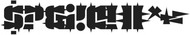 Guest Circus Paradiso otf (400) Font OTHER CHARS