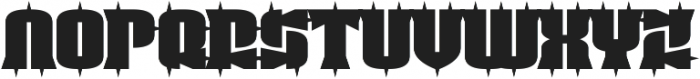 Guest Circus Paradiso otf (400) Font LOWERCASE
