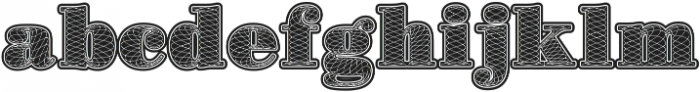 Guilloches01 Roman ttf (400) Font LOWERCASE