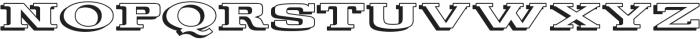 Gulana 3D ttf (400) Font UPPERCASE