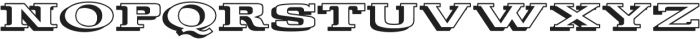 Gulana 3D ttf (400) Font LOWERCASE