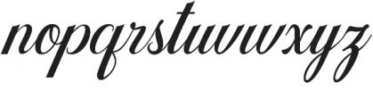 Gullever Font otf (400) Font LOWERCASE