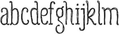Gulyesa Script otf (400) Font LOWERCASE
