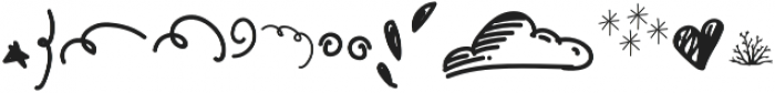 Gumdrop Doodle otf (400) Font UPPERCASE