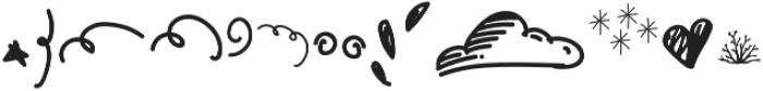 Gumdrop Doodle otf (400) Font LOWERCASE