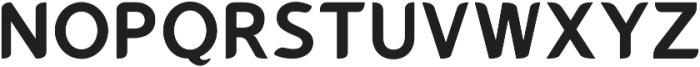 Gumela otf (700) Font UPPERCASE