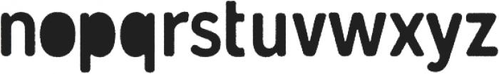 Gunnar Cutout-Rough ttf (400) Font LOWERCASE