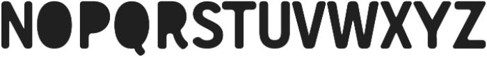 Gunnar Cutout ttf (400) Font UPPERCASE