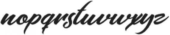 Gunnars otf (400) Font LOWERCASE