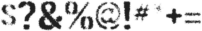 Gunplay Spraypaint otf (400) Font OTHER CHARS
