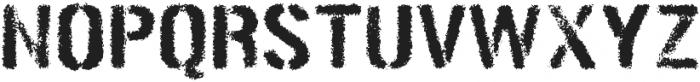 Gunplay Spraypaint otf (400) Font UPPERCASE