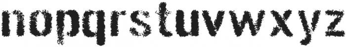 Gunplay Spraypaint otf (400) Font LOWERCASE