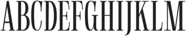 Gunstand-Regular otf (400) Font UPPERCASE