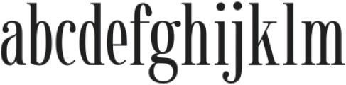 Gunstand-Regular otf (400) Font LOWERCASE
