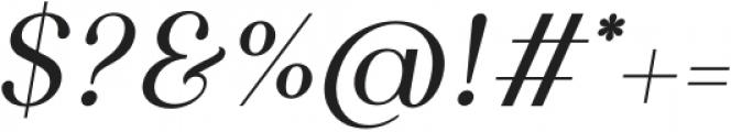 Gunterhaus Transitional Italic otf (400) Font OTHER CHARS