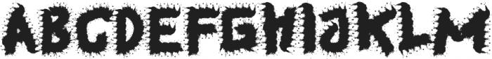 Guondrong otf (400) Font UPPERCASE