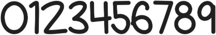 Gurrilo Regular otf (400) Font OTHER CHARS