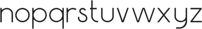 Gustavo otf (100) Font LOWERCASE