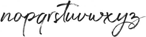 Gustavson Script Alt otf (400) Font LOWERCASE