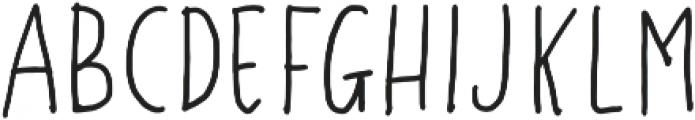 Gustisans Regular otf (400) Font UPPERCASE