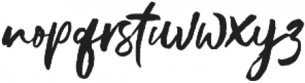 Gustolle otf (400) Font LOWERCASE