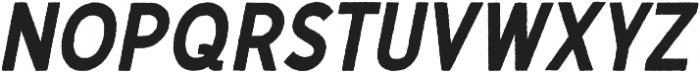 Gutenberg Clean Italic otf (400) Font LOWERCASE