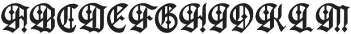 Gutenburg ttf (400) Font UPPERCASE