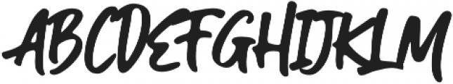 Guthen Bloots Alt1 otf (400) Font UPPERCASE