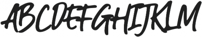 Guthen Bloots Basic otf (400) Font UPPERCASE