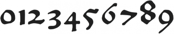 Gutknecht otf (400) Font OTHER CHARS