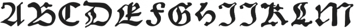 Gutknecht otf (400) Font UPPERCASE