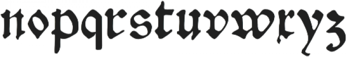 Gutknecht otf (400) Font LOWERCASE