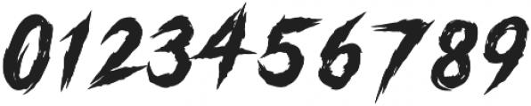 Gutter Punk Regular otf (400) Font OTHER CHARS