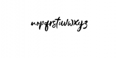 Gustolle.otf Font LOWERCASE