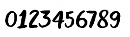 Guerrilla Handshake Italic Font OTHER CHARS