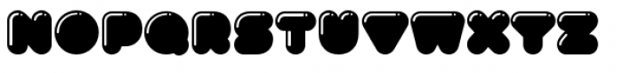 Gusto Pro Highlight Font LOWERCASE
